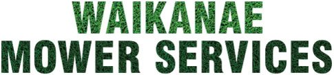 Waikanae Mower Services